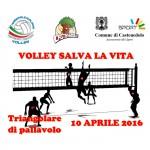 Volley salva la vita: Triangolare di pallavolo, 10 aprile 2016