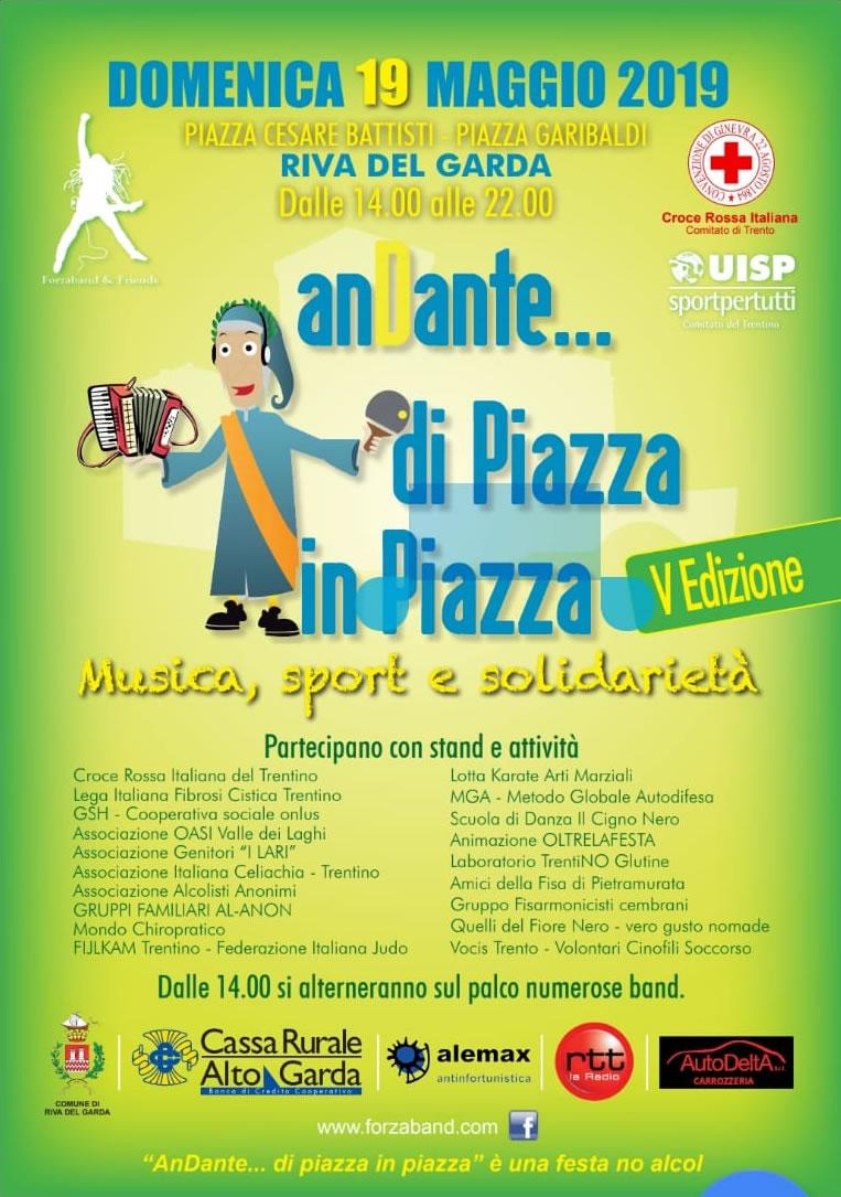 AnDante... di Piazza in Piazza V edizione - musica, sport e solidarietà